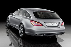 Mercedes CLS Shooting Brake Concept pictures