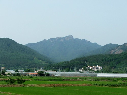 Korea's Kamaksan Mountain