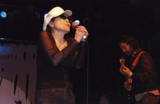 Yoko and Sean at ArthurFest 2005