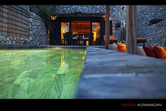 The 6th Sense (Murad Al Ramadan) Tags: holiday pool architecture relax long gulf middleeast courtyard resort arabic villa arabia hotels senses arabian peninsula oman gcc arabiangulf hideaway swimingpool musandam sultanate sixsenses mywinners poolvilla zighy