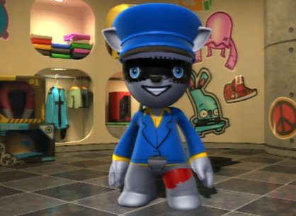 Sly Cooper in ModNation Racers