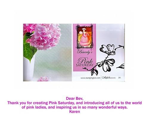 Dear Bev