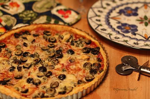 My Tarte ŕ la Provençale - Recipe :-)