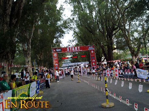 TNF 100 Trail Run Finish Line