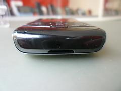 blackberry pearl 3g: scocca inferiore