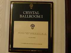 DSCF3920 (yellowsoupbowl) Tags: hotel george waco crystal sale radisson ks haunted ballroom kansas 1922 douglas wichita remodeling prohibition broadview speakeasy drury liquidation siedhoff