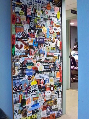 WNTI Studio Door