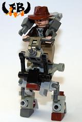Mech Walker (Brick Mercenaries Custom Minifigures) Tags: amazing lego mini creation figure custom armory minifigure moc brickarms brickforge