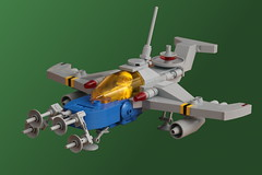Work in Progress (pasukaru76) Tags: classic lego space wip moc ncs starfighter sigma105mm me262 nightfighter