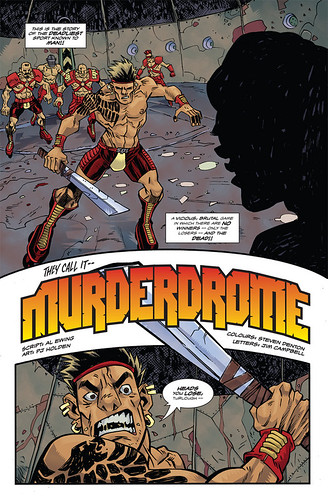Murderdrome page 1