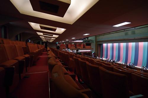 歌舞伎座閉場式後の二階