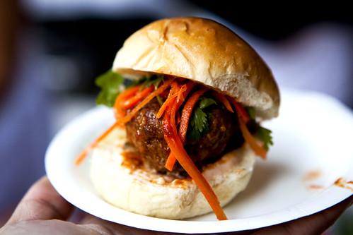 Kampuchea's pork meatball numpang