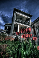 Colorado Governor's Mansion with Flowers (TVGuy) Tags: flowers canon colorado denver mansion denverco governors doorsopendenver