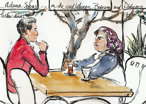 Turkey, cafe couple
