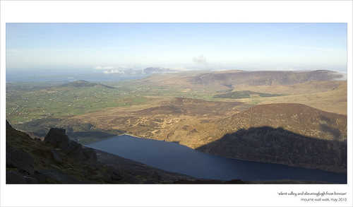 Slient Valley & Slievenaglogh from Slieve Binnian