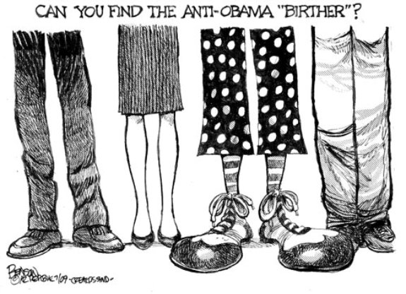 Birther Cartoon