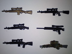 Snipers ( !! ) Tags: brown white black usmc private army for gun desert lego scope military tan terrorist weapon marines op minifig dynamite bombs spec weapons ops brickarms