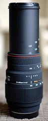 New Lens - Fully Extended