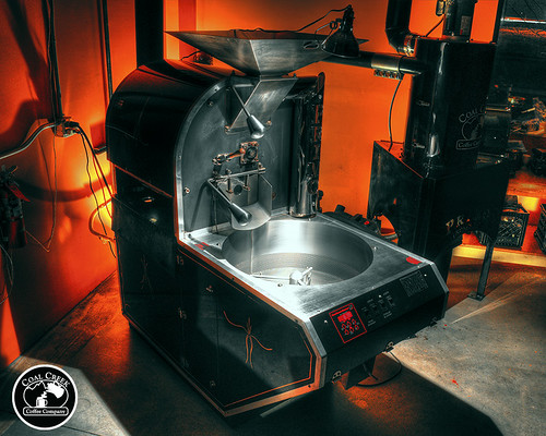 Primo PRI-20 coffee roaster with Cyclone