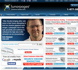 LunarPages Review