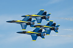 Blue Angels (ep_jhu) Tags: airplane flying aircraft formation airshow hornet airforce f18 usaf tgif blueangels usnavy avin usn jsoh andrewsairforcebase aafb jointserviceopenhouse countinggame