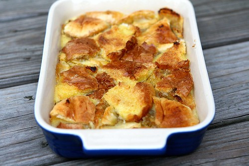 TWD Apple-Rhubarb Bread Pudding