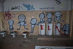 MUSK (707d3k) Tags: urban photoshop buildings bathroom graffiti bay nikon east explore abandonded musk cs4 d80