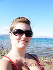 219/365 (OceanBaby-in-SLC) Tags: trip blue portrait woman lake beach me water smile face sunglasses self project myself outside happy mine lasvegas nevada days lakemead 365 365days i
