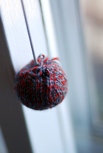 Stuffed Ball Cord Pull