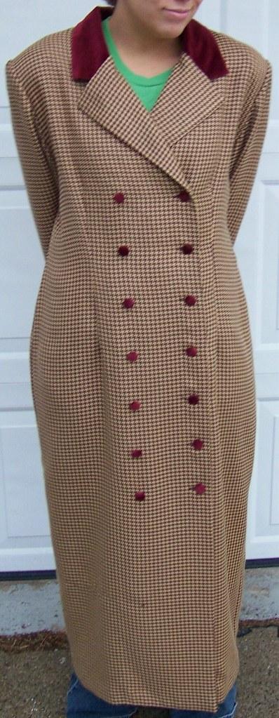 Jennifer Jeffries Dressy Trench Coat