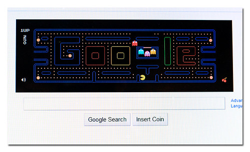 Google gets Pac Man Fever!