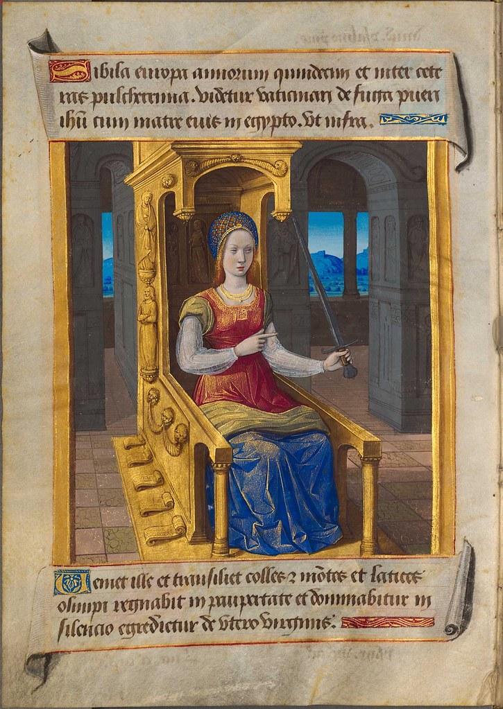 sibyllae et prophetae de Christo Salvatore vaticinantes n