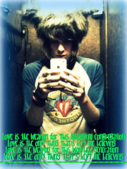 Christofer Drew (Love Is Our Weapon / Never Shout Never) (edit_freak_10) Tags: our music never love is drew weapon shout edits christofer ingle nevershoutnever