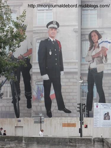 bâche Préfecture de Police 2