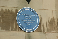 Photo of T. H. Fleeming blue plaque