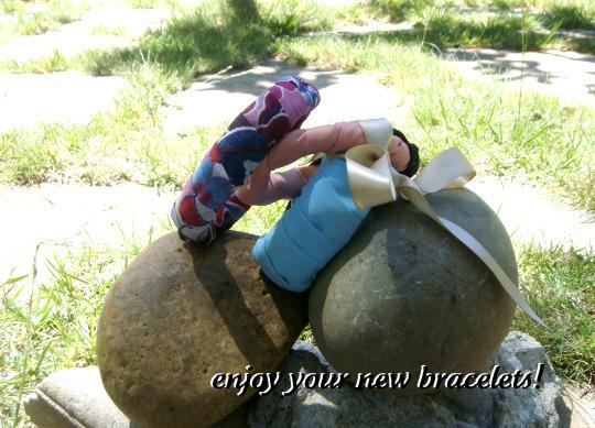 Bracelets On Rocks