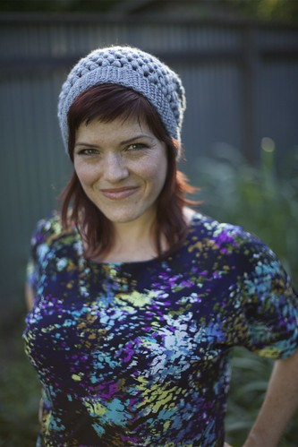 New Pattern Urban Jungle Slouchy Beanie Vickie Howell