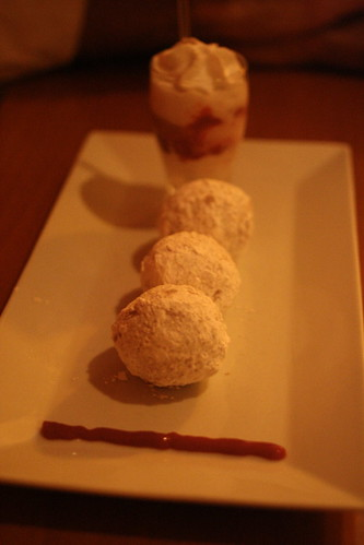 vegan chocolate stuff beignets