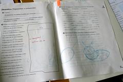 Maqueta dun libro de texto