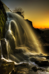Sunset Spray (Shuggie!!) Tags: longexposure sunset sun water silhouette rock landscape scotland waterfall rocks long exposure view williams spray foam karl loup hdr fintry explored anawesomeshot theunforgettablepictures sunsetmania saariysqualitypictures karlwilliams magicunicornverybest tplringexcellence peregrino27newvision