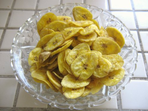 how to cook plantain chips