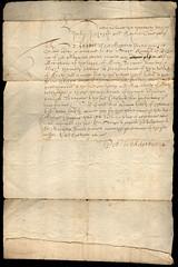 Order to demolish Perth Citadel, 1661 (P&KC Archive) Tags: architecture war king religion revolution archives defences monarchy cromwell scottishparliament battles ecsochistory perthspast
