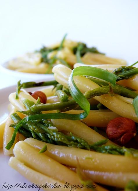 Casarecce con asparagi selvatici