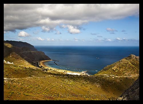 Playa las Teresitas Santa Cruz de Tenerife