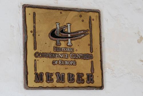 Conference centre plaque