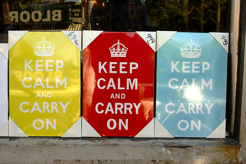 Keep Calm by Ian Muttoo, on Flickr
