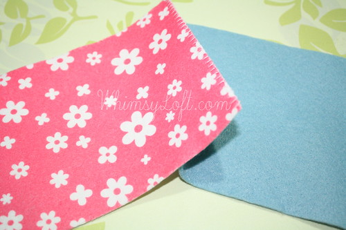 Tutorial : Simple Felt Purse 3