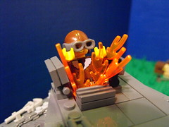 Battle for Capitol Hill (PizzaMovies Productions (PMP)) Tags: world two history army us war lego military wwii aliens ww2 alternate moc pizzamovies uwsdwf