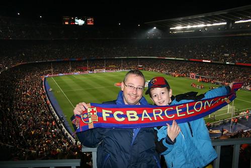 de heren Krumm, FC Barcelona - Real Madrid