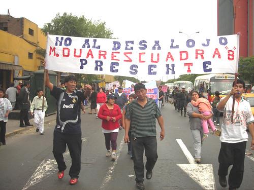 Pobladores de Av. Moreles Duarez C. 8